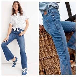 Madewell Rigid Flare Jeans Sz 27